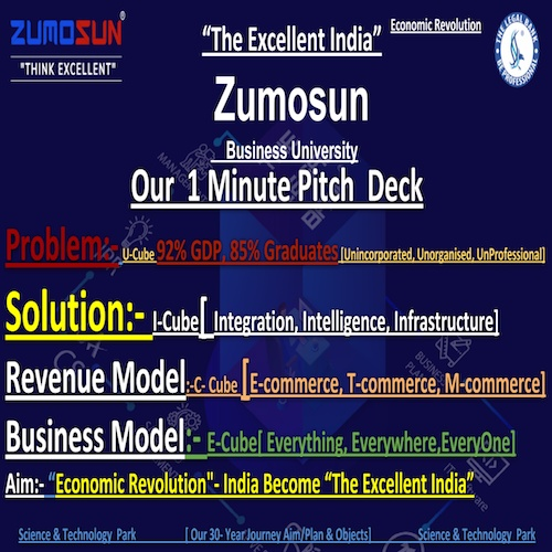 Grow Your Business at least 10X Fold With Zumosun Group