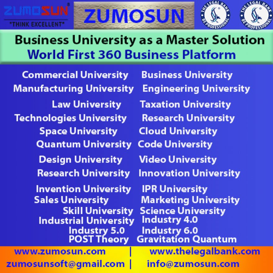 Business University as a Master Solution